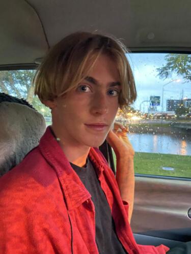 Julian-Munyard-Red-Shirt-Rainy-Day-2020
